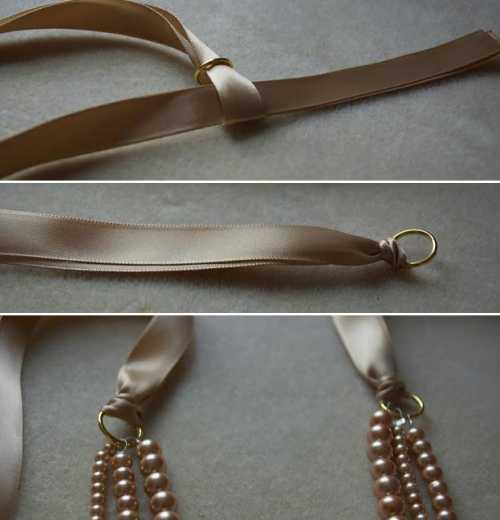 ожерелье жанин пайер